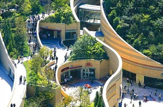 日本难波公园:里面的综合体让你听到花开的声音!已在成都再现!!