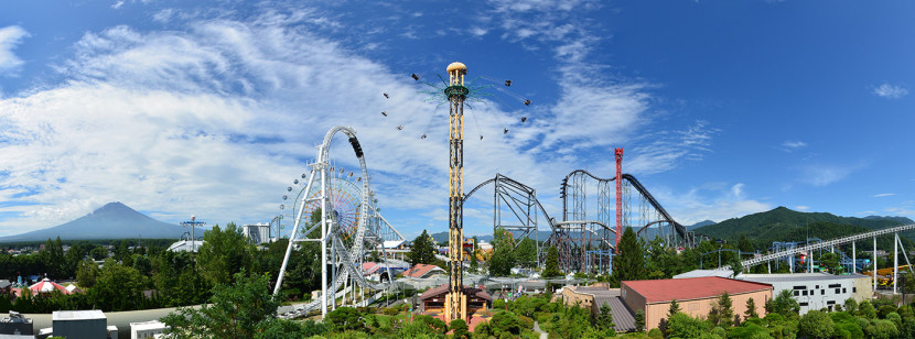 日本游乐园富士急Highland 7月中旬起入园免费!