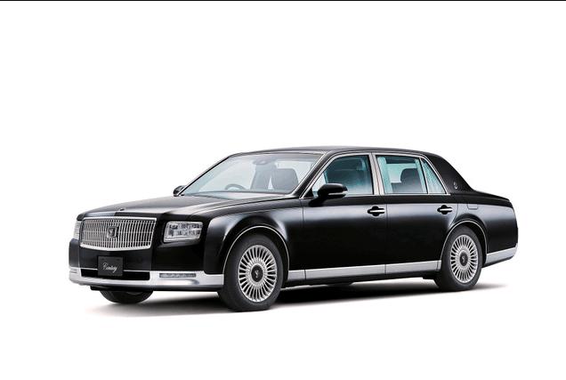 """日本新天皇继位仪式车型确定 将乘""""丰田世纪"""""""